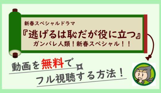 逃げ恥(続編)新春スペシャルの見逃し動画配信を無料でフル視聴する方法まとめ!